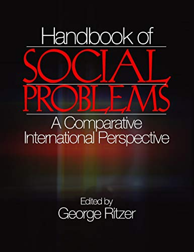 9780761926108: Handbook of Social Problems: A Comparative International Perspective