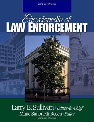 Encyclopedia of Law Enforcement (3 Vol Set)