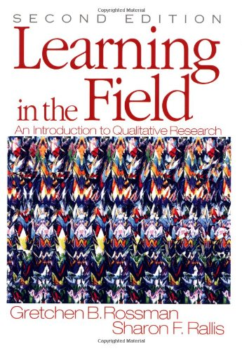 9780761926511: Learning in the Field: An Introduction to Qualitative  Research