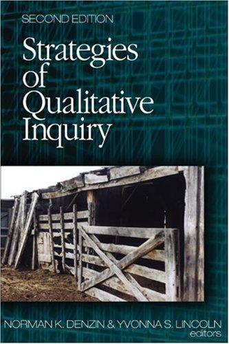 9780761926917: Strategies of Qualitative Inquiry