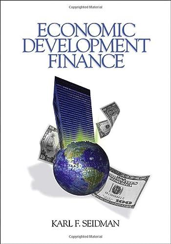 9780761927099: Economic Development Finance