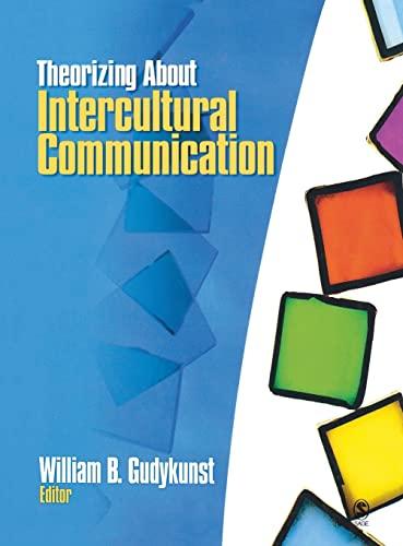 9780761927488: Theorizing About Intercultural Communication