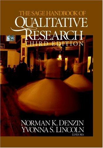 9780761927570: The SAGE Handbook of Qualitative Research