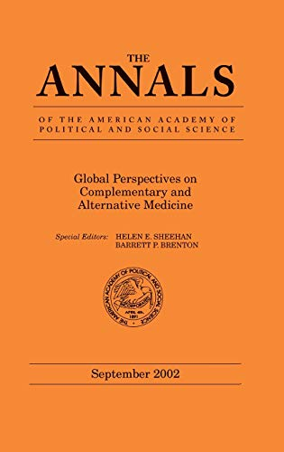 9780761927754: Global Perspectives on Complementary and Alternative Medicine (The ANNALS of the American Academy of Political and Social Science Series)