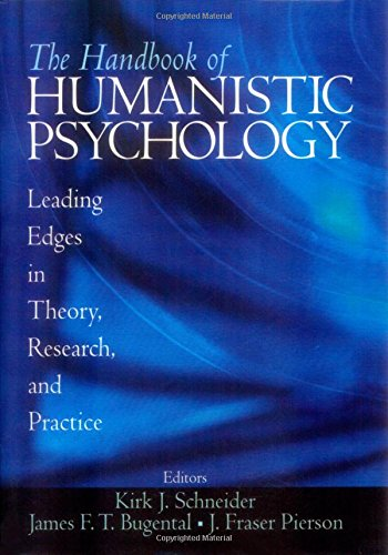 9780761927822: The Handbook of Humanistic Psychology: Leading Edges in Theory, Research, and Practice