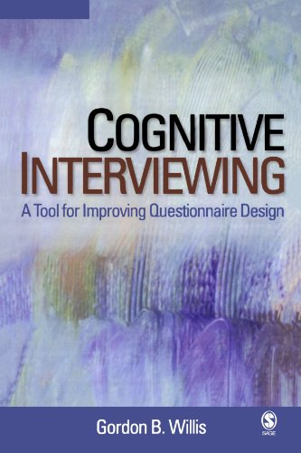 9780761928034: Cognitive Interviewing: A Tool for Improving Questionnaire Design