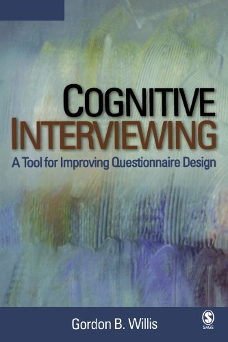 9780761928041: Cognitive Interviewing: A Tool for Improving Questionnaire Design