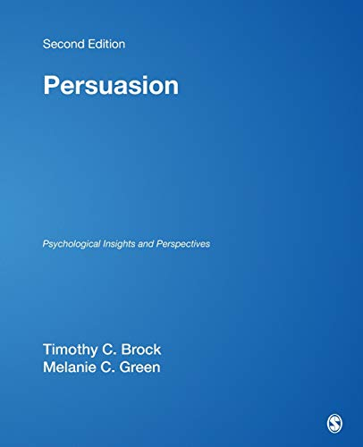 9780761928096: Persuasion: Psychological Insights and Perspectives