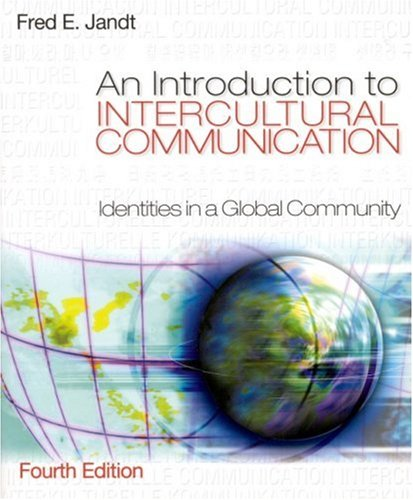 9780761928478: An Introduction to Intercultural Communication: Identities in a Global Community