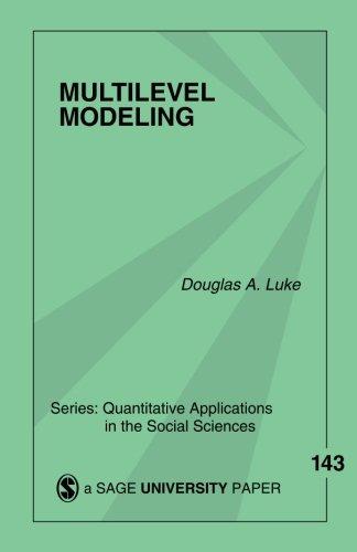 9780761928799: Multilevel Modeling