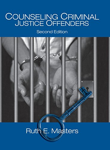 9780761929338: Counseling Criminal Justice Offenders