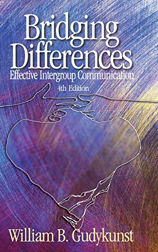 9780761929369: Bridging Differences: Effective Intergroup Communication (INTERPERSONAL COMMTEXTS)
