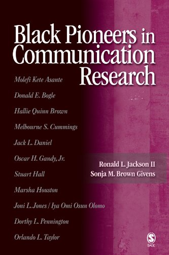 9780761929932: Black Pioneers in Communication Research