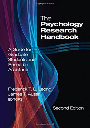 9780761930211: The Psychology Research Handbook: A Guide for Graduate Students and Research Assistants