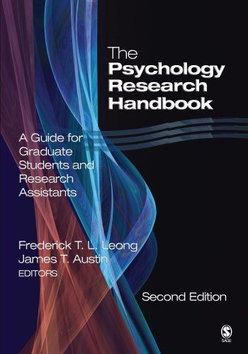 9780761930228: The Psychology Research Handbook: A Guide for Graduate Students and Research Assistants