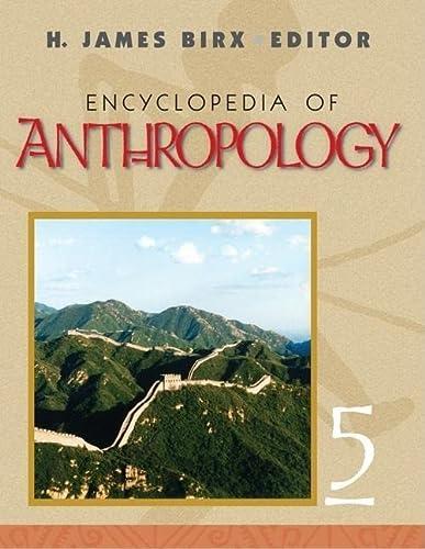 9780761930297: Encyclopedia of Anthropology (5 Volume Set)
