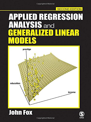 9780761930426: Applied Regression Analysis and Generalized Linear Models