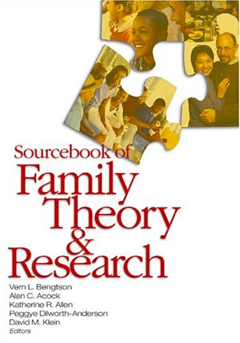9780761930662: Sourcebook of Family Theory and Research