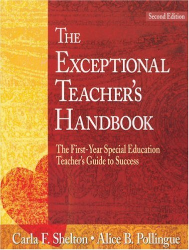 9780761931966: The Exceptional Teacher′s Handbook: The First-Year Special Education Teacher′s Guide to Success