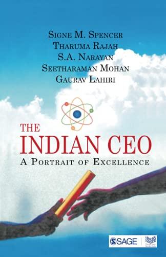 The Indian CEO: A Portrait of Excellence: Gaurav Lahiri,S.A. Narayan,Seetharaman