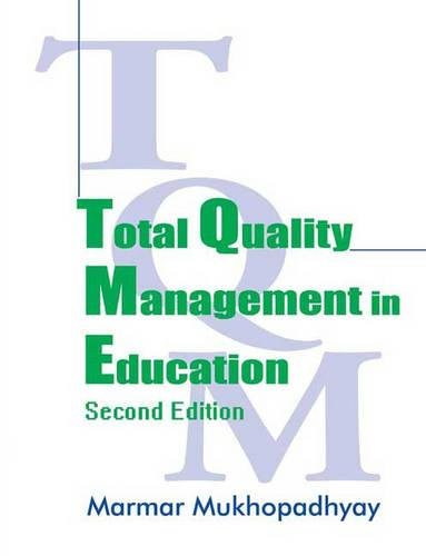9780761933687: Total Quality Management in Education
