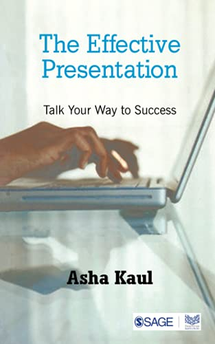 9780761934134: The Effective Presentation: Talk Your Way To Success (Response Books)