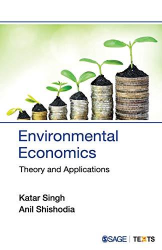Environmental Economics - Singh, Katar; Shishodia, Anil