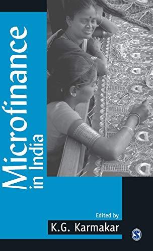 Microfinance India: K.G. Karmakar (ed.)