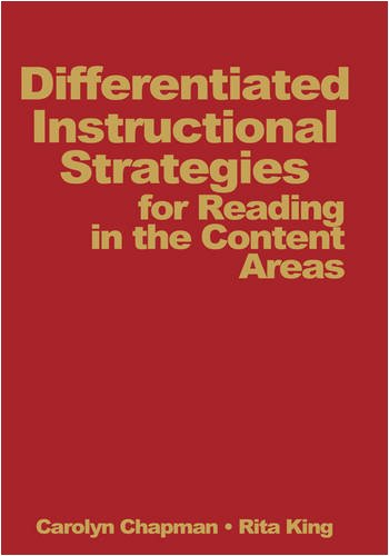 9780761938248: Differentiated Instructional Strategies for Reading in the Content Areas