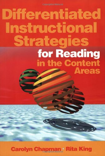 9780761938255: Differentiated Instructional Strategies for Reading in the Content Areas