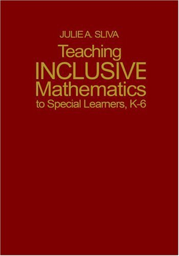 9780761938903: Teaching Inclusive Mathematics to Special Learners, K-6