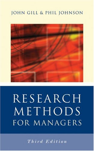9780761940012: Research Methods for Managers