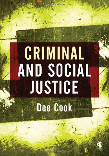 9780761940098: Criminal and Social Justice