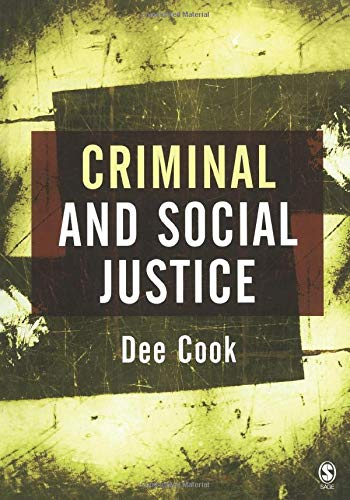 9780761940104: Criminal and Social Justice
