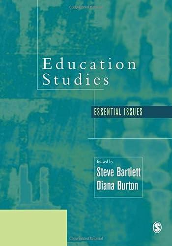 9780761940500: Education Studies: Essential Issues