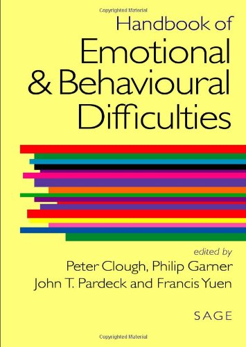 Handbook of Emotional and Behavioural Difficulties: Sage Publications