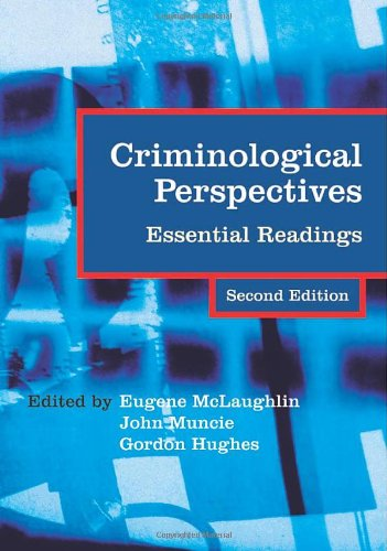 9780761941439: Criminological Perspectives: Essential Readings (Published in association with The Open University)