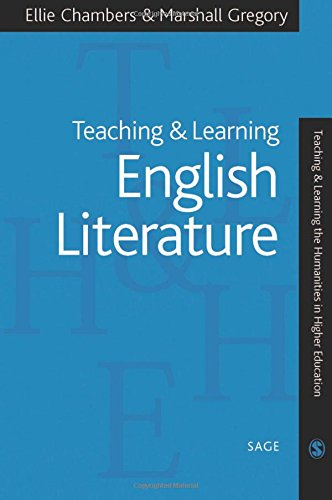 9780761941729: Teaching and Learning English Literature (Teaching & Learning the Humanities in HE series)