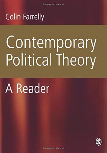 9780761941842: Contemporary Political Theory: A Reader