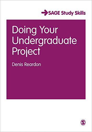 9780761942078: Doing Your Undergraduate Project (SAGE Essential Study Skills Series)
