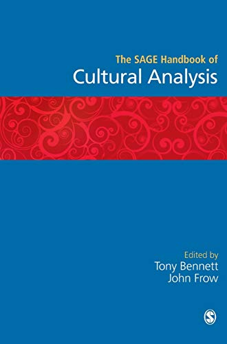 9780761942290: The SAGE Handbook of Cultural Analysis