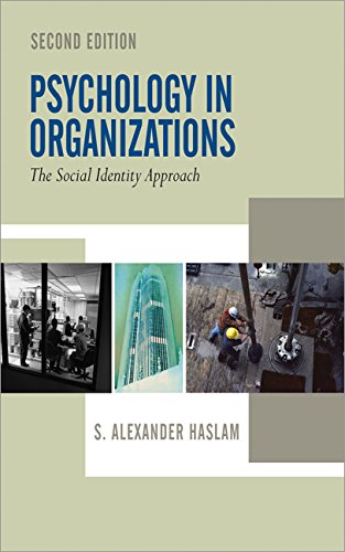 9780761942306: Psychology in Organizations