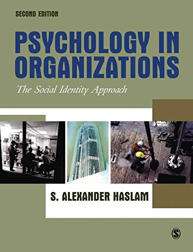 9780761942313: Psychology in Organizations: The Social Identity Approach