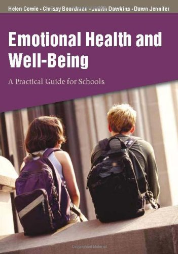 9780761943549: Emotional Health and Well-Being: A Practical Guide for Schools
