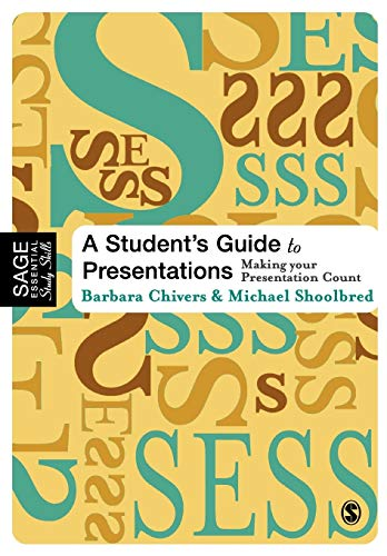 9780761943693: A Student's Guide to Presentations: Making Your Presentation Count (SAGE Essential Study Skills Series)