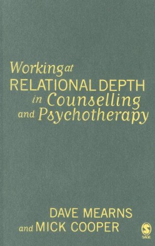 9780761944577: Working at Relational Depth in Counselling and Psychotherapy