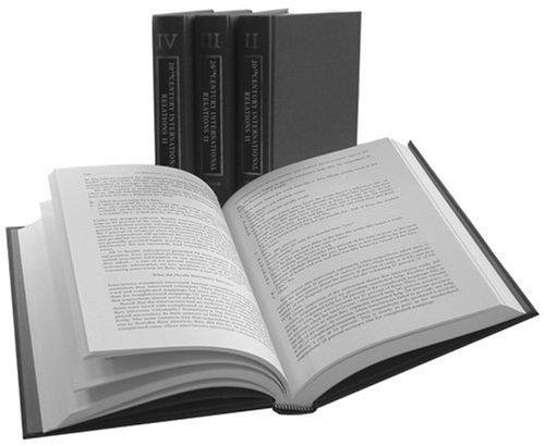 Twentieth Century International Relations: Volumes V-VIII (Hardcover): Baggy Cox