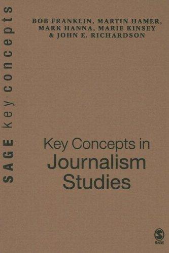 9780761944812: Key Concepts in Journalism Studies (SAGE Key Concepts series)