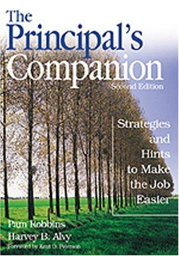 9780761945154: The Principal′s Companion: Strategies and Hints to Make the Job Easier