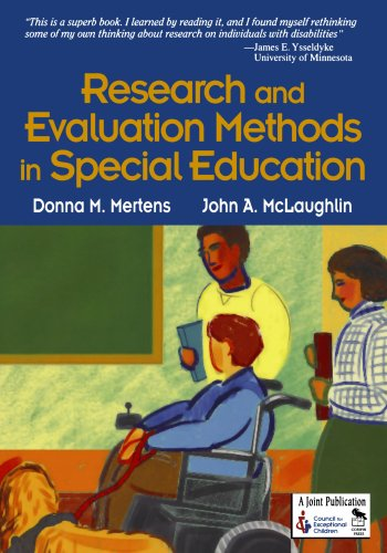 9780761946533: Research and Evaluation Methods in Special Education